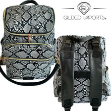 Load image into Gallery viewer, Gilded Imports Quality Designer Diaper Family Multi-Function Backpack Detachable Purse