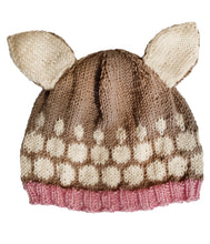 Load image into Gallery viewer, Little Fawn Hat – 2-4yrs – Pure Wool - Truzealia