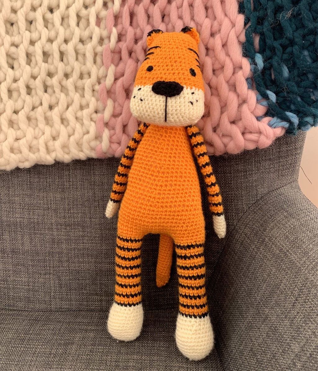 Paisley Lounge Presents Amigurumi Tiger - Truzealia