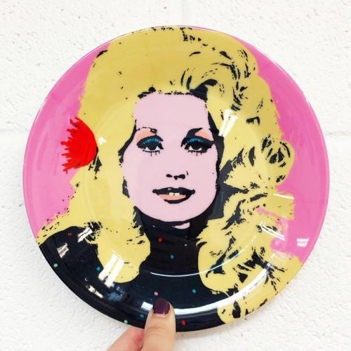 Dolly Parton Plate