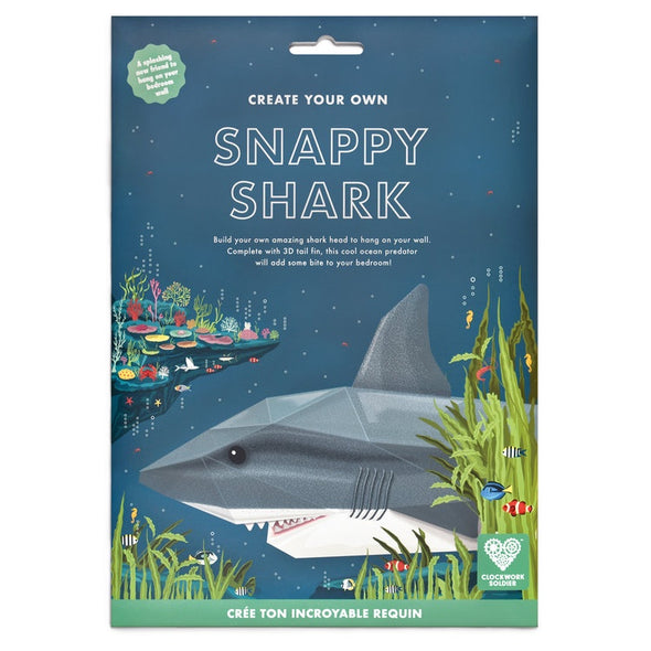 Snappy Shark By Clockwork Soldier