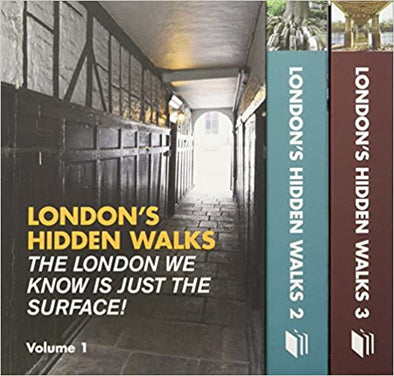 London hidden walks box set