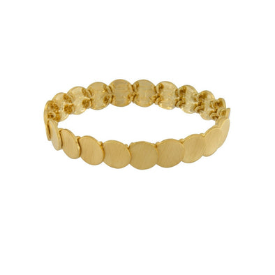 Mini Dot Gold Plated Bracelet by Dansk Copenhagen