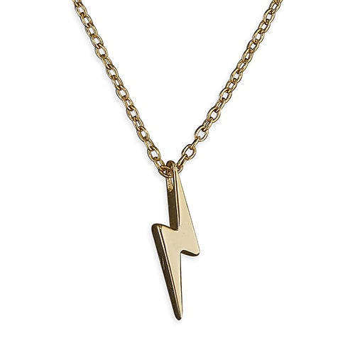 Ziggy Gold Plated Silver Necklace