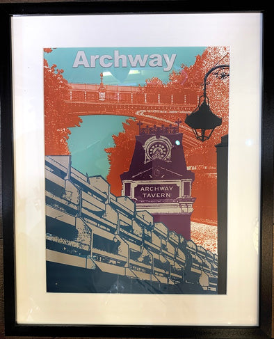 Iconic Archway Giclee Print (Framed)