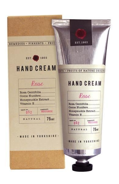 Rose Hand Cream by Fikkerts