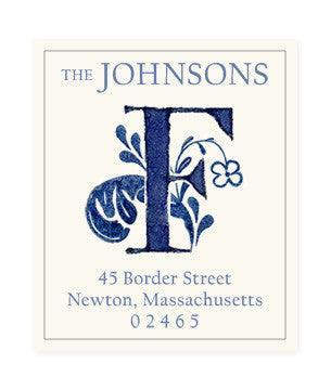 Delftware F - Return Address Labels