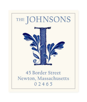 Delftware I - Return Address Labels