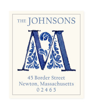 Delftware M - Return Address Labels