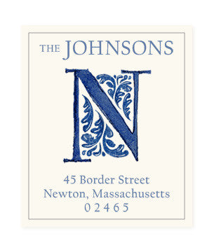 Delftware N - Return Address Labels