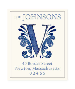 Delftware V - Return Address Labels