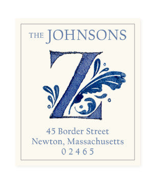 Delftware Z - Return Address Labels