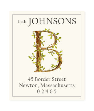 Ivy B - Return Address Labels