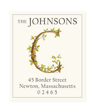 Ivy C - Return Address Labels