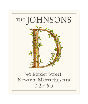 Ivy D - Return Address Labels