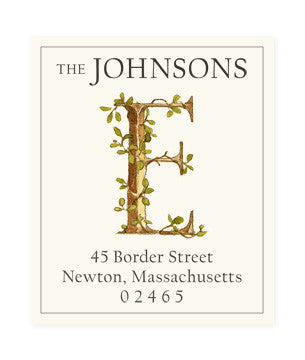 Ivy E - Return Address Labels