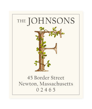Ivy F - Return Address Labels