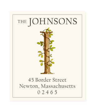 Ivy I - Return Address Labels