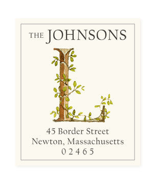 Ivy L - Return Address Labels