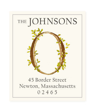 Ivy O - Return Address Labels