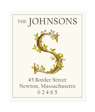 Ivy S - Return Address Labels