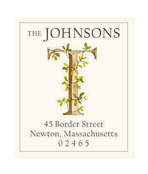 Ivy T - Return Address Labels