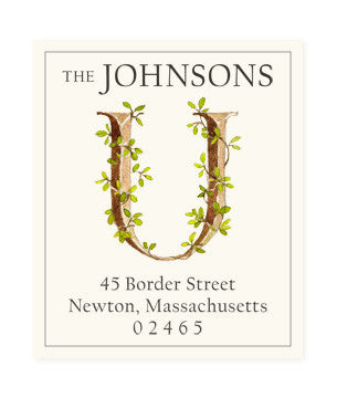 Ivy U - Return Address Labels