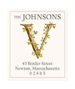 Ivy V - Return Address Labels