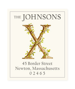 Ivy X - Return Address Labels