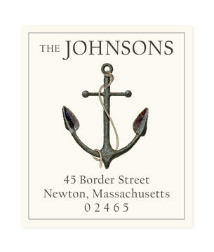 Anchor - Return Address Labels