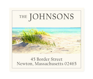 Dunes - Return Address Labels