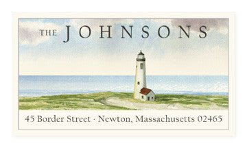 Great Point - Panoramic Return Address Labels