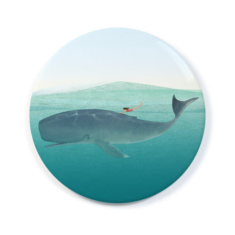 Whale Rider - Pocket Mirror