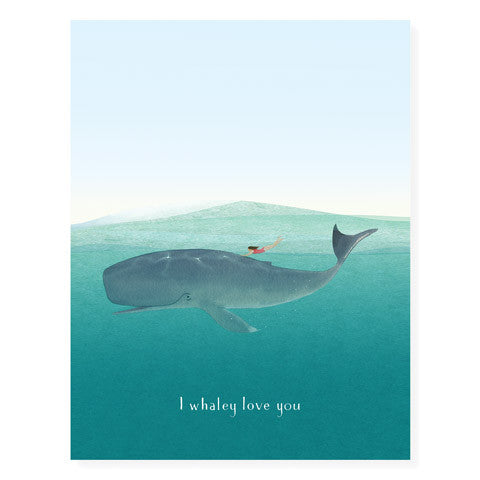 Whale Rider - Occasion Card