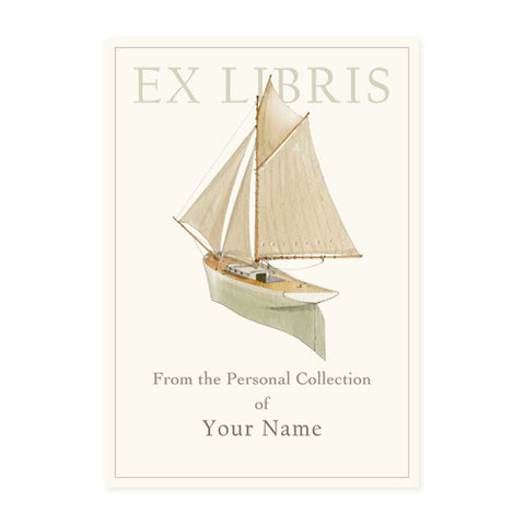 Model Yacht - Bookplates
