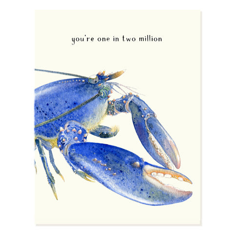 Blue Lobster - Occasion Card