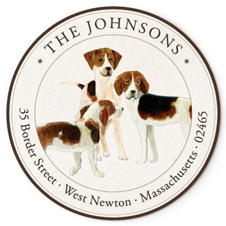 Three Beagles - Correspondence Seals