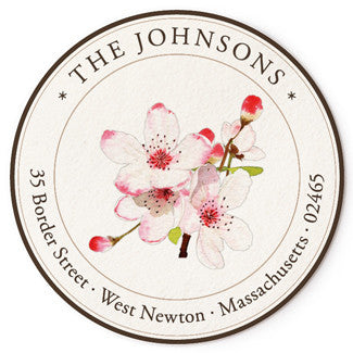Apple Blossoms - Correspondence Seals