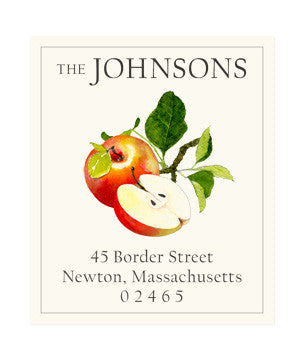 Apples - Return Address Labels