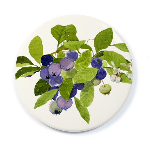 Blueberry Branch - Pocket Mirror