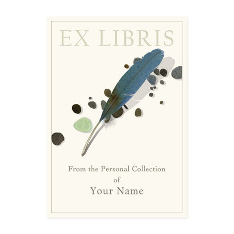 Blue Feather - Bookplates