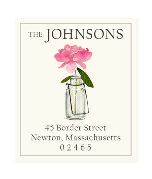 Contentment - Return Address Labels