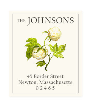 Cotton Blossom - Return Address Labels