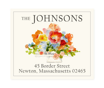 Garden Gala - Return Address Labels