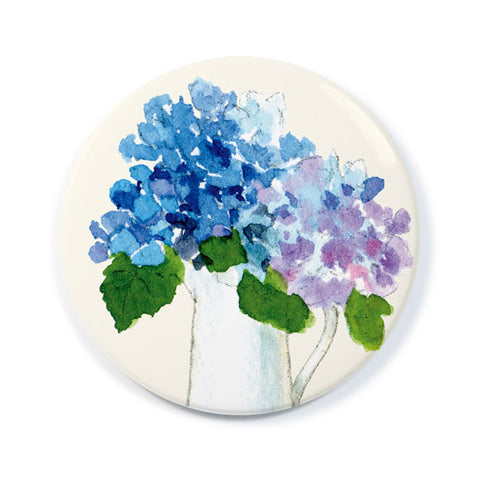 Hydrangea Pitcher - Pocket Mirror