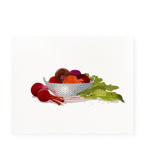 Jewel-toned Beets - Art Print
