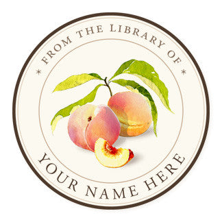 Juicy Peaches - Ex Libris Medallions