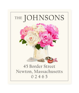 Peony Coast - Return Address Labels
