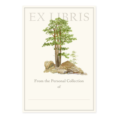 Pine Cliff - Large Bookplates