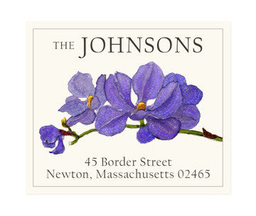 Orchid Stem - Return Address Labels